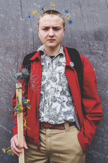 Youth Strike 4 Climate Real People Front View One Person Leisure Activity Lifestyles Portrait Looking At Camera The Portraitist - 2019 EyeEm Awards