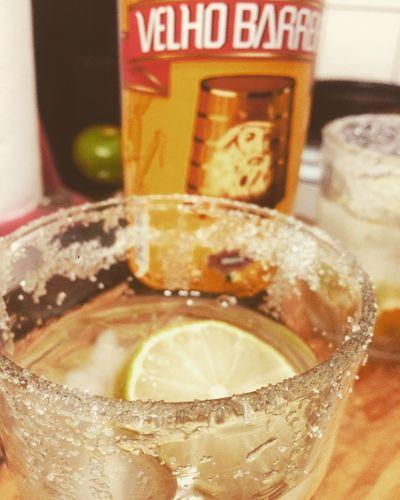 Caipirinha en casa 🎉🇧🇷❤️ Food And Drink Drink Refreshment Indoors  Close-up Food Glass Drinking Glass Glass - Material Text Fruit Citrus Fruit Cold Temperature