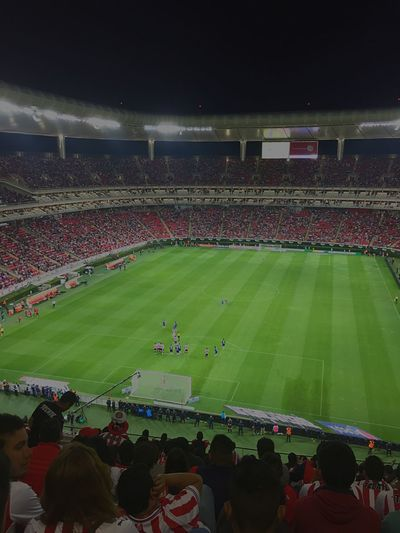 EstadioChivas Outdoors Footballfield Stadium Mexico