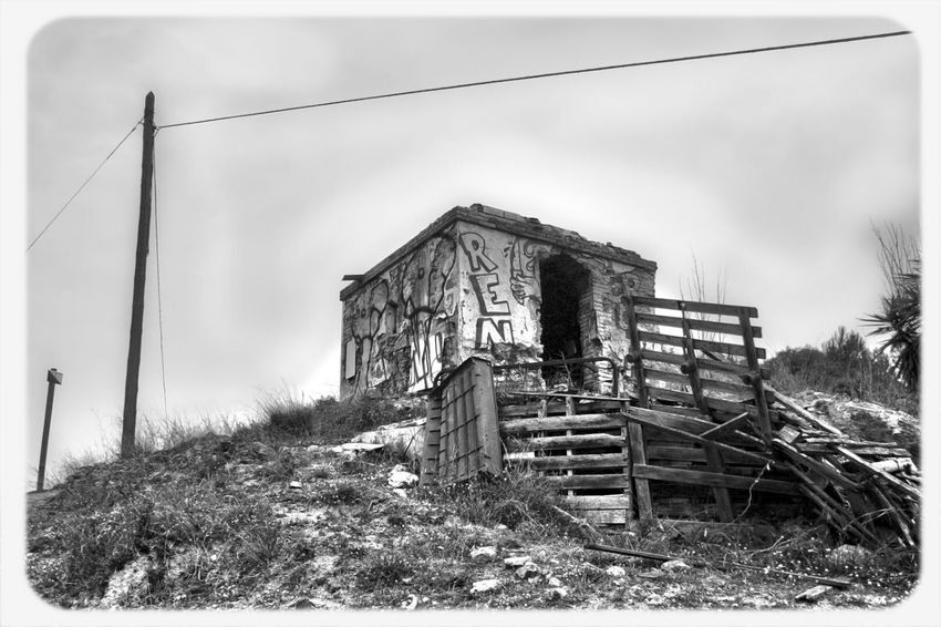 Blackandwhite Abandoned Blanco Y Negro Outdoor Derelict & Abandoned Abandoned Buildings