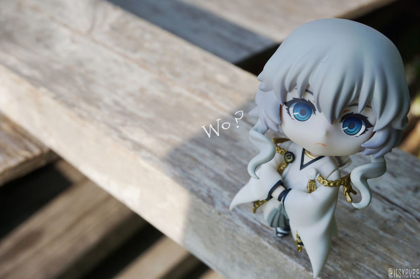 Art Close-up Craft Creativity Focus On Foreground No People Selective Focus Still Life Wood - Material Wooden ねんどろいど Anime Toyphotography Outdoors Green Color Outdoor Photography Kancolle Kantaicollection