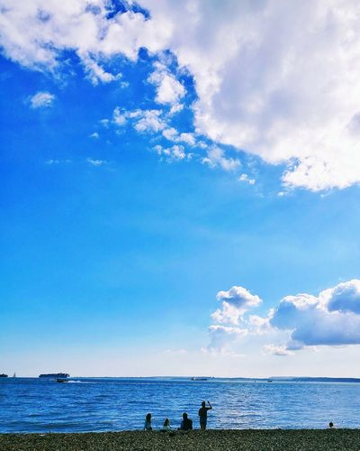 Sea Cloud - Sky Beach Sky Nature Water Beauty In Nature Scenics Travel Destinations Horizon Over Water Tranquility Outdoors Wave Day No People
