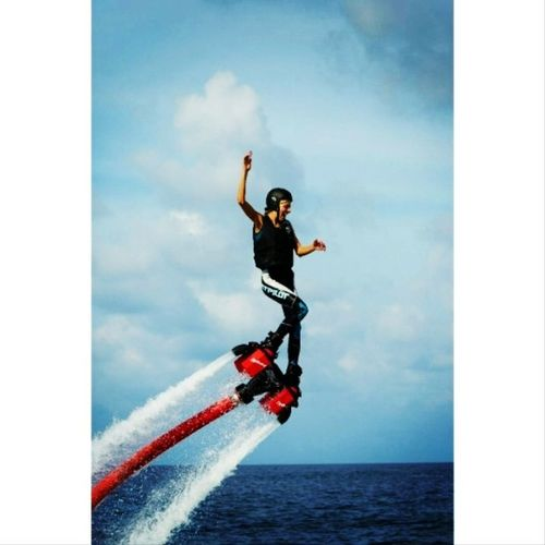А я всё летаю)) Flyboarding Happy Maldiwes Holidays coolgirl followme
