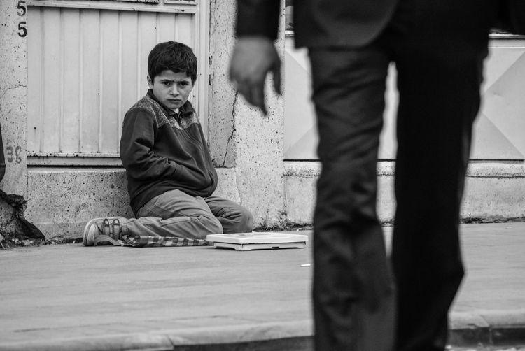 Blackandwhite Black And White Black & White Streetphotography Street Street Photography Streetphoto_bw Refugees Streetphoto Child Childhood