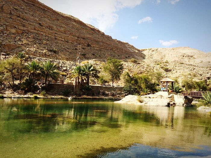 Great time at Wadi bani Khalid. Oman Nature