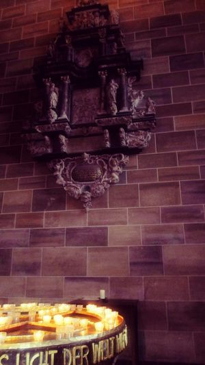 Why? A Pray Of The Lost Souls Pray For Berlin Pray For Peace Fresh On Eyeem  Church Architecture Church Cathedral Bremen Spirituality Bremer Dom Inside Photography Berlin why?