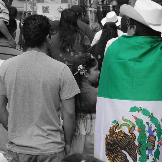"""¡Viva Mexico!, Sunset Park, Brooklyn"" Mexico People Color Splash Brooklyn, NY"