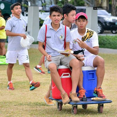 @jelofacturanan @vincesanityyy ⚽ . . . UAAP Uaap77 Uaapseason77 ADMUvsUST juniors AdMU UST sbspotlight soccerbible football themanansala