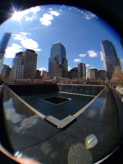 Fisheye Soaking Up The Sun Remembering New York the best £3 iPhone gadget I have ever bought :)