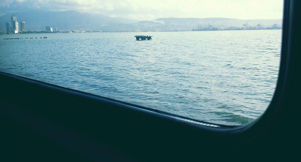 Train Sea Izmir Birds