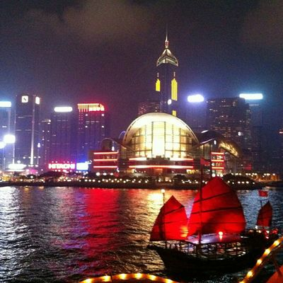 Thank you for all my dear friends for likes and follow 😊💖 Victoria Harbour HongKong Nofilter#noedit Nice View Night View Harbour View Harbour Cruise Holiday 2015
