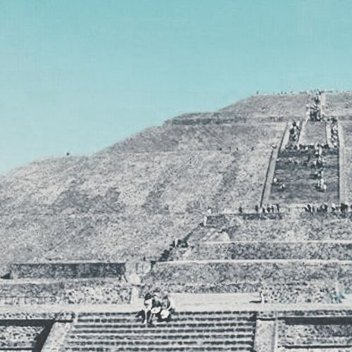 Looking for where I come from... Teotihuacan Mexico Coloredit Architecture Aztecs