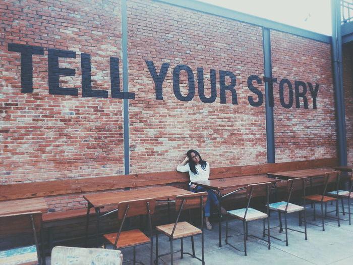 Tell your story! Sister❤ Enjoying Life Hello World Vscocam