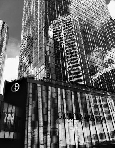 The Architect - 2017 EyeEm Awards HongKong Hk Hong Kong Blackandwhite Architecture Built Structure Building Exterior Low Angle View Skyscraper Day Communication Outdoors Modern No People City Sky