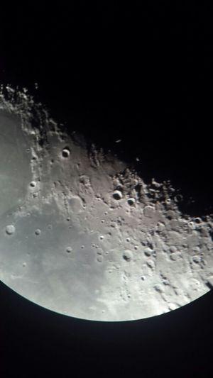 tendo a lua, aquela gravidade aonde o homem flutua! Astronomy Moon Telescope Nature_collection