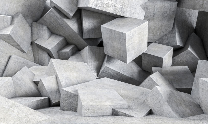 Architecture Geometric Architecture Textures and Surfaces Wall Abstract Backgrounds Concrete Concrete Texture Cube Shape Cubes Design Geometric Shape
