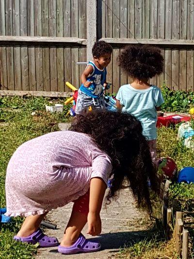 Family My Kids❤️ Having Fun PricelessMoment Summer