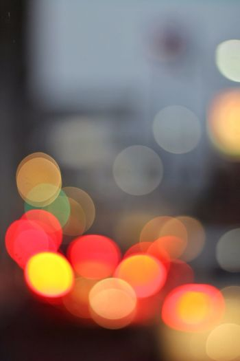 Bubbly blurry circuly twilight. Love Bokeh The Lights About A Circle
