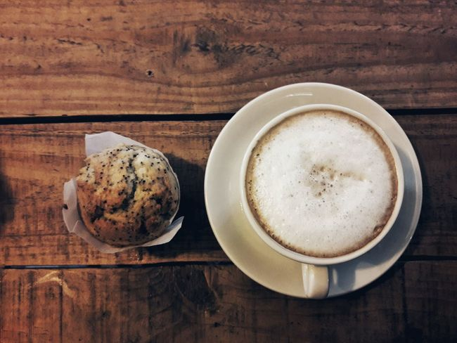 Un café? Coffe Cake Lemon Breakfast Love Lovecoffee Caffe Time Food And Drink Table