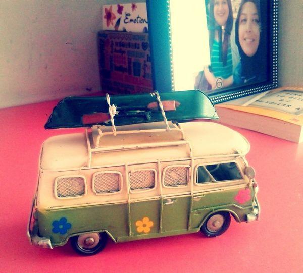 Canim Arkadasimin Hediyesi Pek Bir Severim Vosvos Minibus Gift Happy People :):)