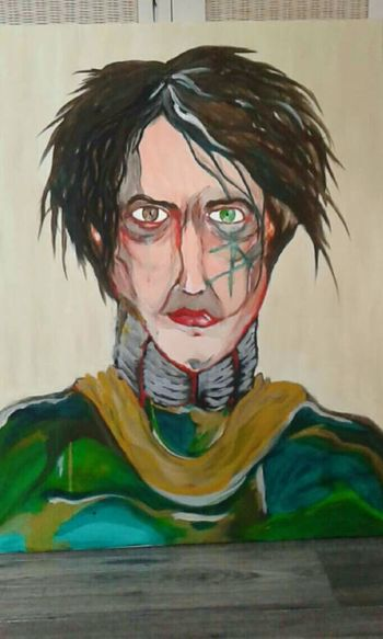 Taking Photos Drawing Painting Amazone Science Fiction Green Eyes Brown Eyes Fantasy Man