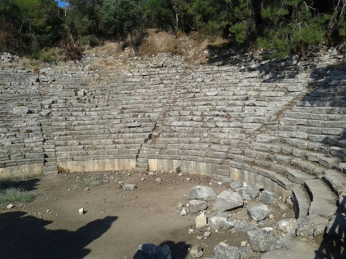 Historic Landscapes Beautiful Nature Phaselis Teather Antique