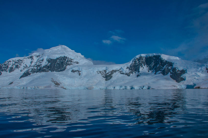 Antarctica Antarctic Peninsula Snowcapped Mountain Sea Iceberg Ziseetheworld Ziwang