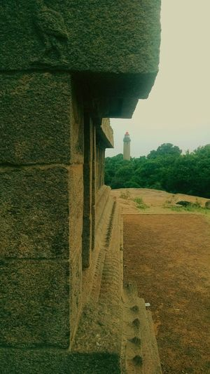 Built Structure Rural Scene No People Day Architecture Outdoors Sky Protected Monument Mahabalipuram, India Light House