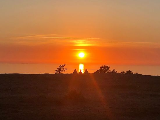Sunset Sky Beauty In Nature Scenics - Nature Tranquility Orange Color Sun EyeEmNewHere Modern Hospitality