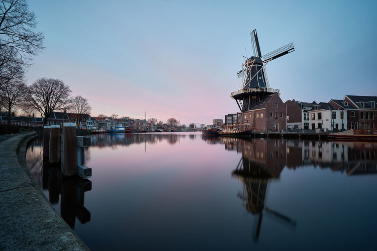 De Adriaan Architecture Building Exterior Calm Dutch Dutch Cities Europe Haarlem History Holland Holland❤ Long Exposure ND Filter Nederland Netherlands Peaceful Reflected Glory Reflection River Sky Slow Shutter Spaarne Travel Destinations Water Waterfront Windmill