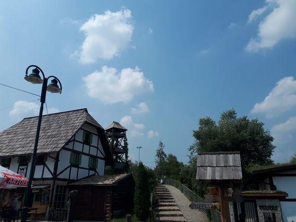 etno selo Cardaci Tree Sky Architecture Building Exterior Built Structure Cloud - Sky