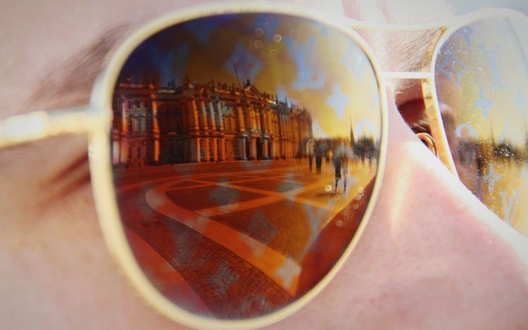 Glasses Reflect One Person Human Body Part Adult Outdoors St.petersburg St. Petersburg Travel Destinations St. Petersburg, Russia Russia Architecture Hermitage, St. Petersburg Hermitage Museum Museum Louis Vuitton