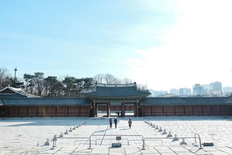 Seoul,Korea Sand Beach Sky Architecture My Best Photo
