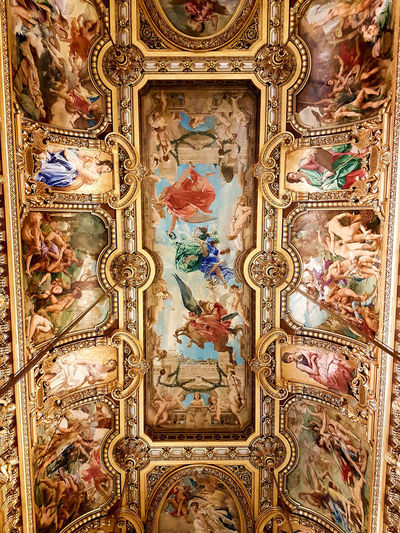 Ornate Pattern Art And Craft Architecture Close-up Detail Art Painting French Art Operahouse Opera Garnier Paris Discover  Discover Your City Travel Tourist Photo Summer Parisian Parisian Life France History