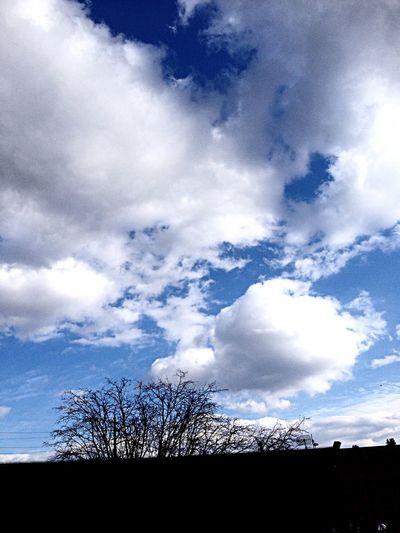 Sky And Clouds Looking At Fluffy Clouds What A Beautiful Day♥ Yesterday