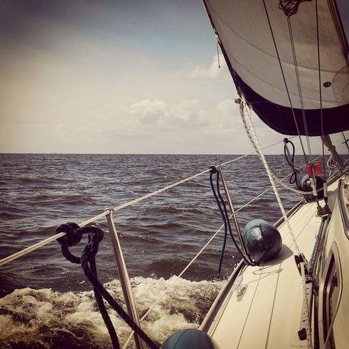 Ijsselmeer Sailing Sailboat Clear Sky Water Bavariayachts