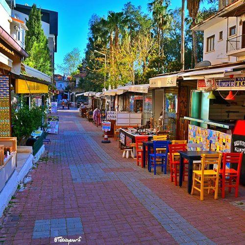 Kaş sokakları 📷 Mutlu akşamlar arkadaşlar 🌙👏👍 Kas Sokak Streetphotography City Holiday