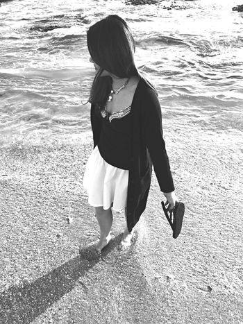 Sunshine Being A Beach Bum Relaxing Enjoying The Sun Monochrome Blackandwhite