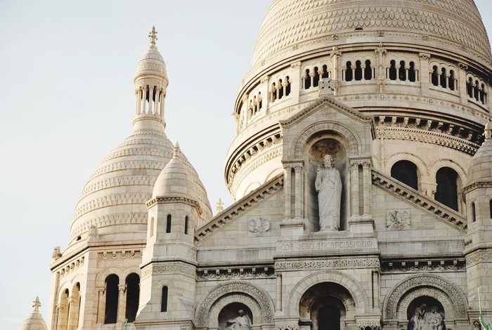 Architecture Dome Travel Destinations Built Structure Building Exterior History Arch Tourism Day No People Low Angle View Outdoors Sky Paris ❤ France French Sacre Coeur