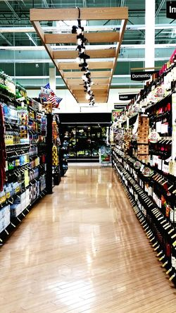 The Wine aisle is the best aisle Wine Is The Answer Domestic Imports