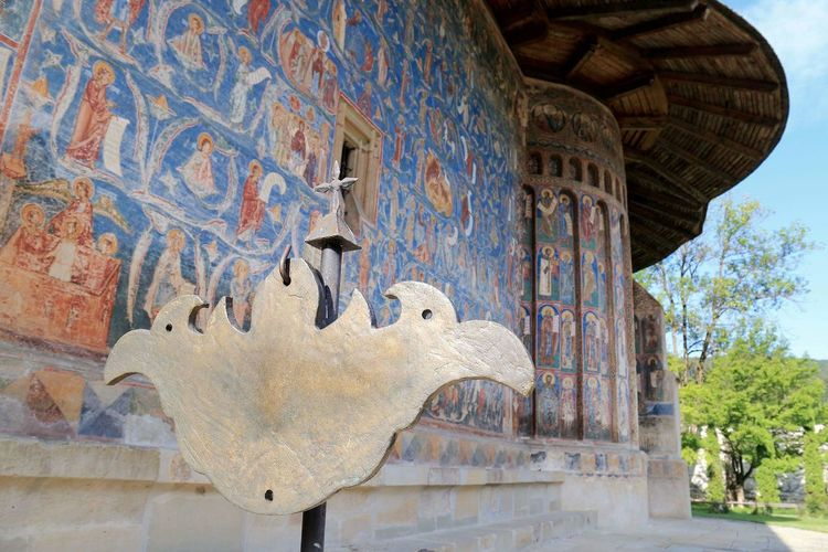 Monastery Voronet Wall Painting