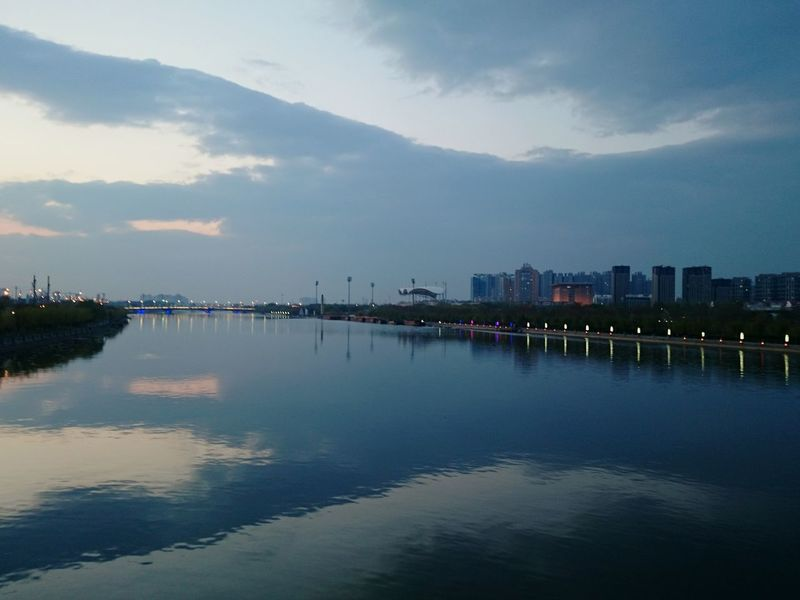 Rive Light And Shadow Landscape Clouds And Sky Tongzhou Beijing, China Nature Nature_collection Popular Photos Photos Around You