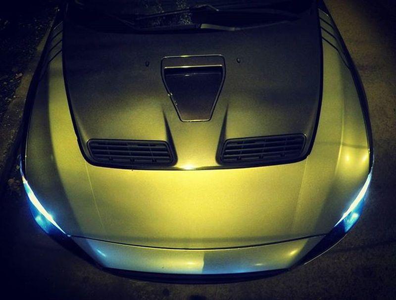 Evolution  Cars Carporn Sportcar Becauseracecar Rallycar Tuning Hood Above Night Lights EvoX Evo Bonet Gopro