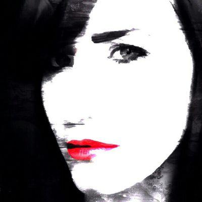 ...my pic and the edit of Monsieur @no_bo_dy (IG)... Art Portrait Selfportrait Collaborative Art Project Self Portrait