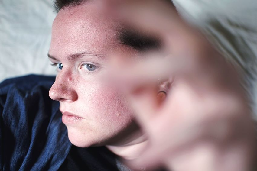 Blurry hand. Not Your Cliche Blurred Androgynous EyeEm Selects Portrait Headshot One Person Child Close-up Indoors  Real People Body Part Lifestyles Looking Away Human Face Innocence