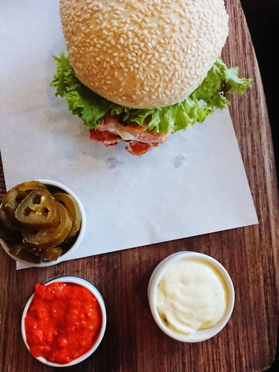 Burger Salmon