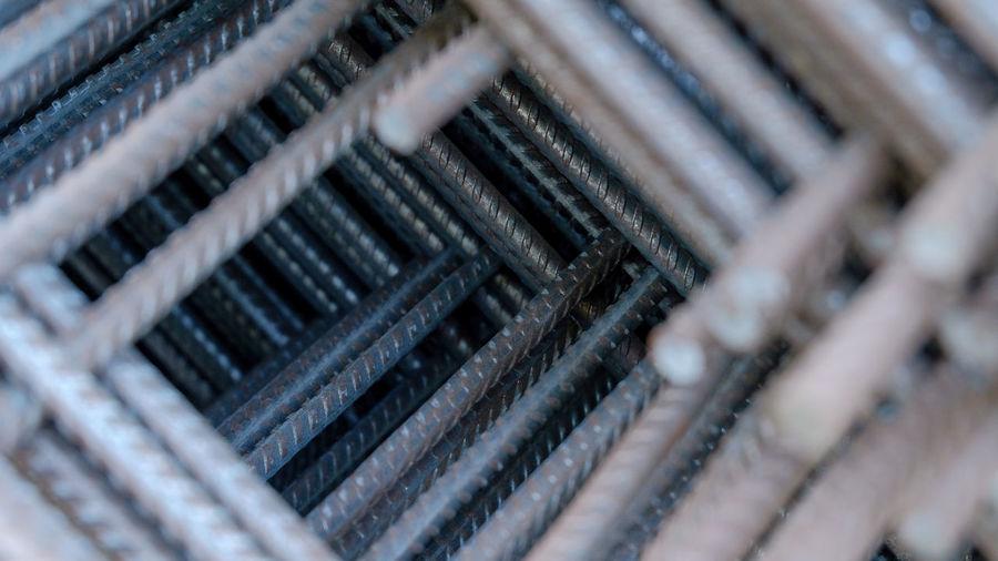 Full frame shot of machine part