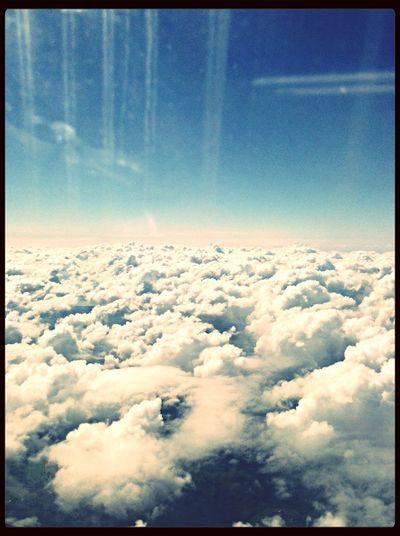 Clouds Sky Airplane