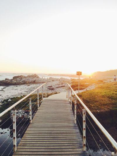 View of boardwalk