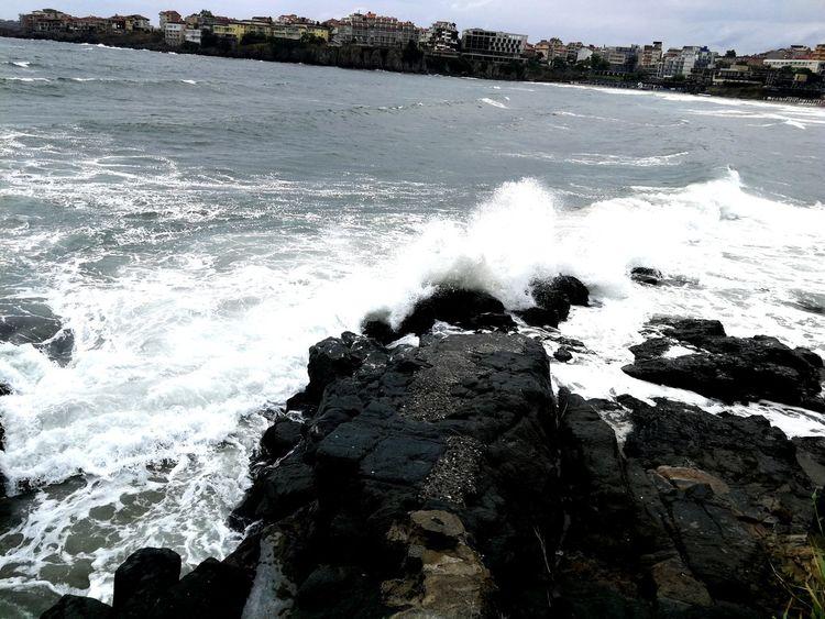 Water Wave Sea Beach Sky